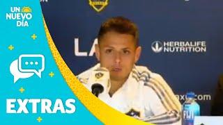 Chicharito Hernández es oficialmente del LA Galaxy   Un Nuevo Día   Telemundo