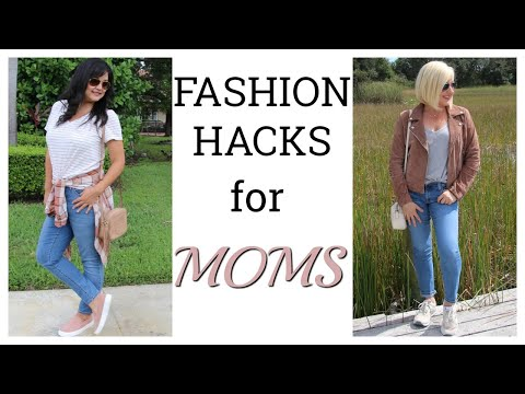 Fashion Hacks for Moms | Everyday Outfits for Moms | Casual Outfit Ideas for Moms