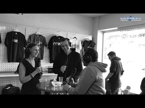Viktor Kidson interview at Back2Noize, Switzerland 2017 (FRENCH + ENGLISH)