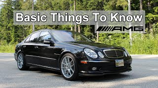 So You Want To Buy a Mercedes E55 AMG - Here are some basic tips.