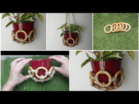 #DIY_hanging_basket_idea #How_to_make_hanging_basket Diy home and garden decoration ideas