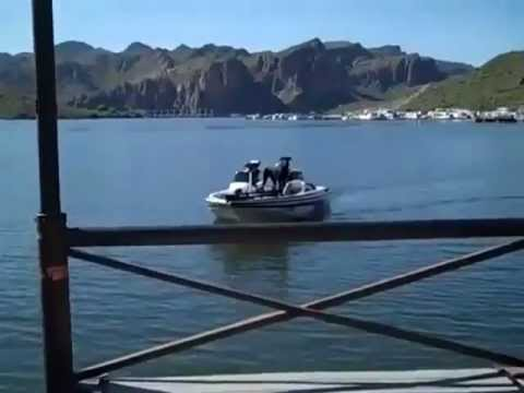 Bass fishing saguaro lake arizona 4 12 2010 youtube for Saguaro lake fishing