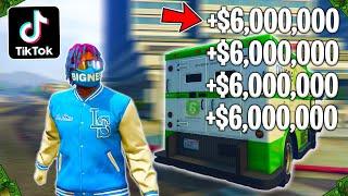 Testing Viral TikTok GTA 5 Money Glitches! (Part 21)