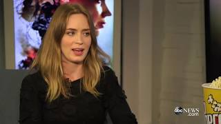 EMILY BLUNT SINGING - Real Voice part 1 | This is an Artist!