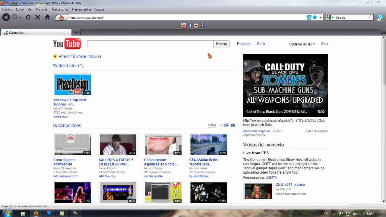 | Complemento | Firefox | ReloadEvery | Truco para Youtube | - YouTube