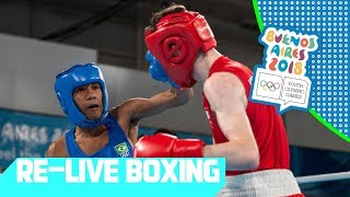 live      day 11  boxing   youth olympic games 2018    buenos aires
