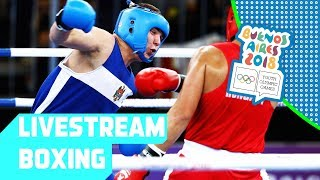 LIVE 🔴 Day 11: Boxing | Youth Olympic Games 2018 | Buenos Aires
