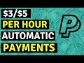 Make Per Hour $3/$5 - Automatic PayPal Or MasterCard Payments! 👀🔥🏦