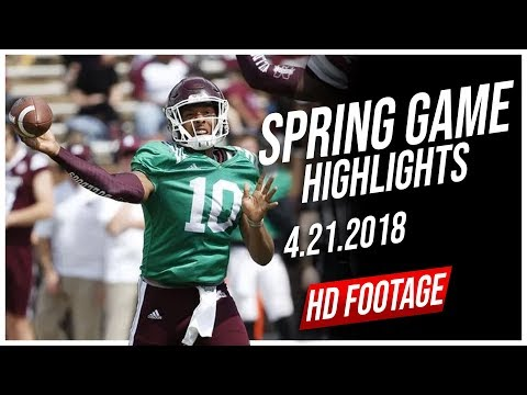 Keytaon Thompson Mississippi State Spring Game Full Highlights || 4.21.2018
