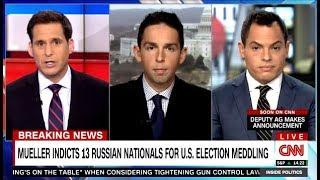 Mueller Indicts 13 Russian Nationals For U.S. 2016 Election Meddling - Via CNN