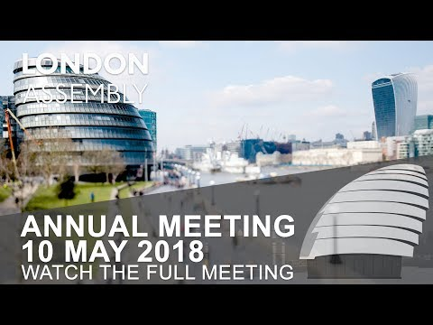 London Assembly Annual Meeting