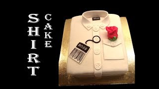 How To Make A T-SHIRT out of CAKE! | Fathers day cake designs | Cake designs for men