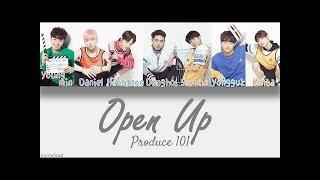 [PRODUCE101]  KNOCK - (열어줘) OPEN UP Instrumental