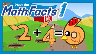 Meet the Math Facts Level 1 - 2+4=6