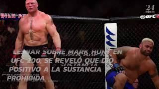 Brock Lesnar da positivo en dopaje y UFC 200 lo multa y suspende