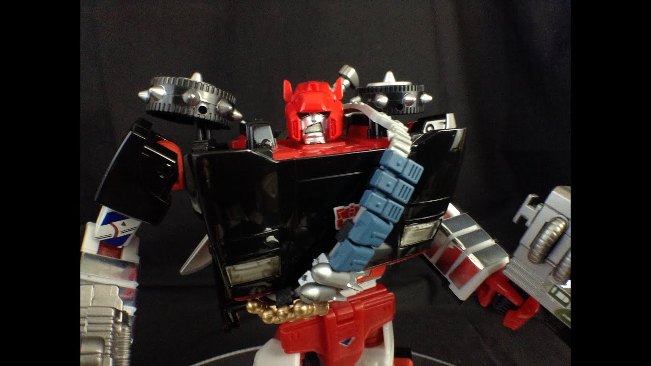 TAKARA TOMY master MP-12 Red Cross rambo model