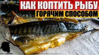 Как Коптить Рыбу Горячим способом (на примере скумбрии)