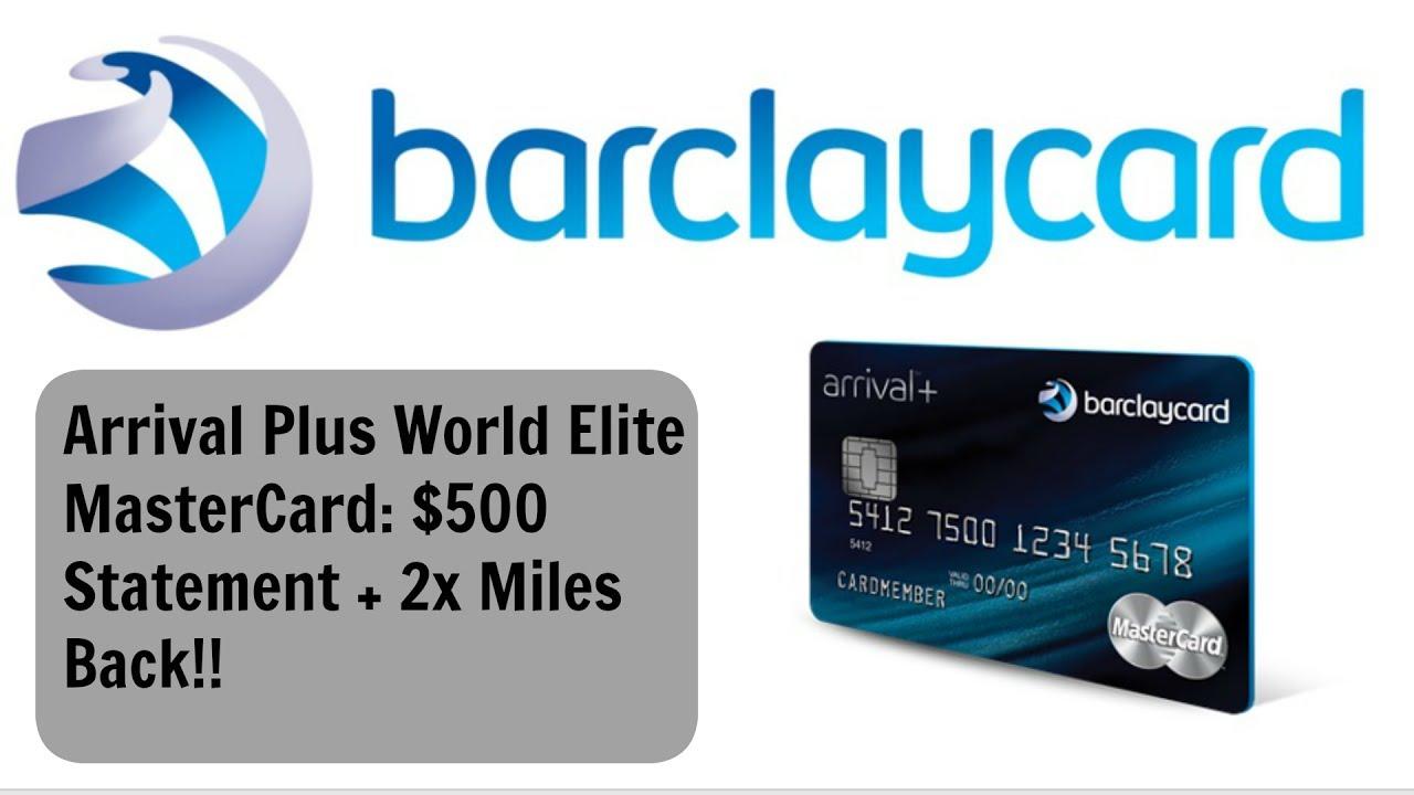 Barclays Mastercard Ring