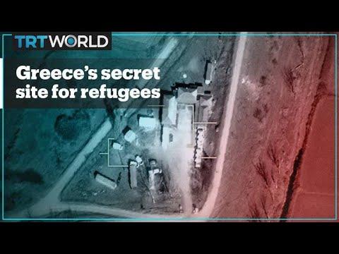 Greece's secret detention centre for refugees and migrants