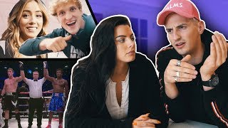 WHY KSI vs LOGAN PAUL WAS A DRAW! LIVE FRONT ROW FIGHT REACTION!
