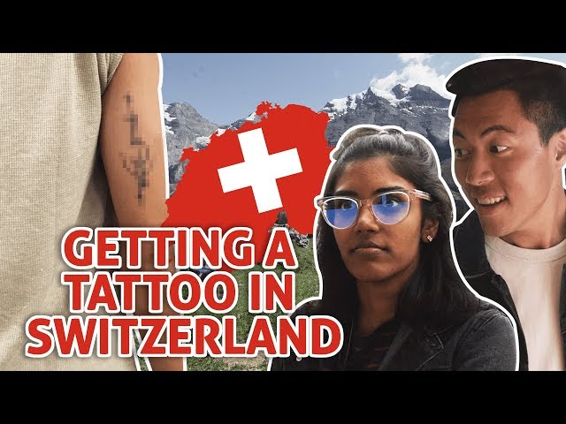 Exploring Switzerland Part 1: Getting A Tattoo + Finding The Toblerone Mountain: TSL Vlogs
