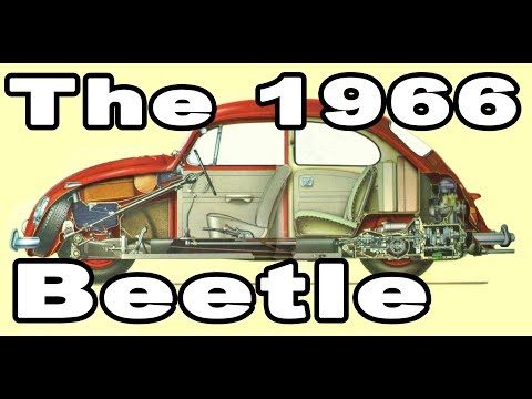 Classic VW BuGs The 1966 Beetle Features and One Year Options