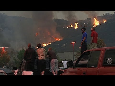 Fighting The Fire: Firefighters Faced Roaring Flames, Extreme Weather