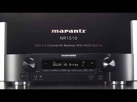 NR1510 - Ultra-Slim 5.2ch AV Receiver with Online Music Streaming