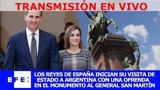 Los reyes de España inician visita de Estado a Argentina thumbnail