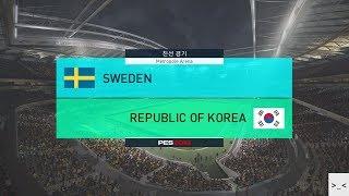 러시아 월드컵 스웨덴 vs 대한민국 매치 게임 경기 예측 하이라이트 영상