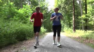 Sportlich: Joggen
