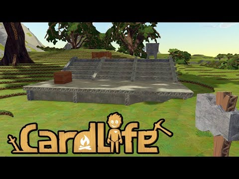 Building and Mining! Cardlife - Part 3