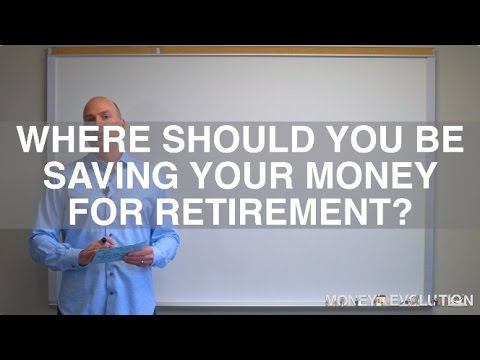 Where Should You Be Saving Your Money For Retirement