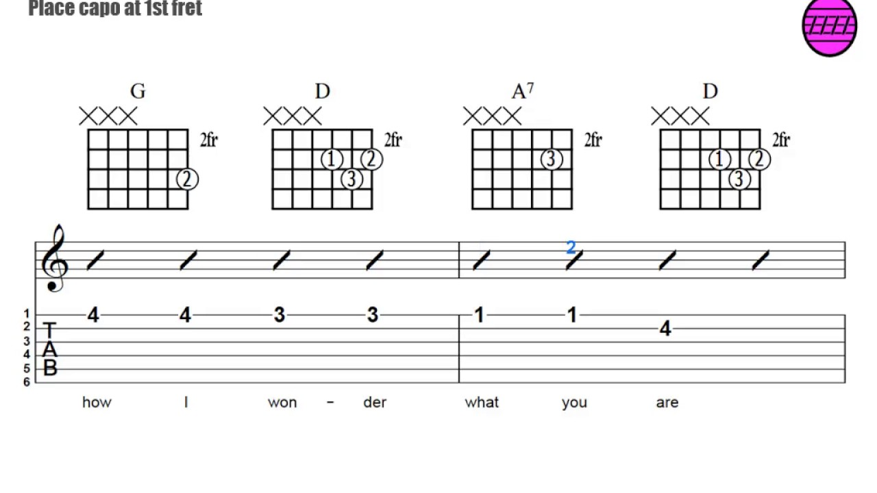 15. Strumming the Chords to Twinkle, Twinkle Little Star   YouTube