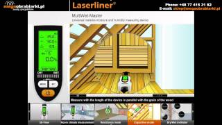Miernik wilgotności drewna i materiałów budowlanych
