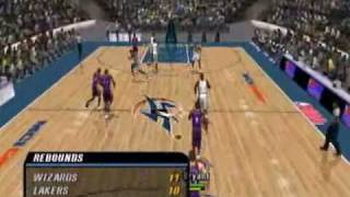 NBA INSIDE DRIVE 2004- Kobe takes on Wizards