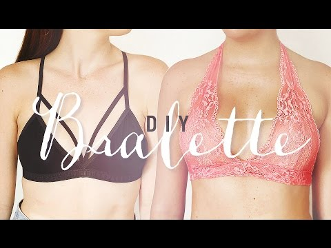 DIY BRALETTE | EASY SEWING PROJECT | THE SORRY GIRLS