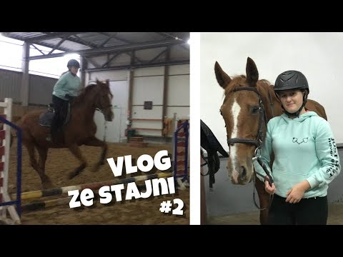 Vlog Ze Stajni/ STAJNIA MORTĘGI #2   Odważyłam Się....?!