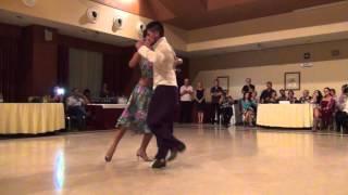 Diego Romero y Ainara Horrillo en el 6º Encuentro de Málaga video 1
