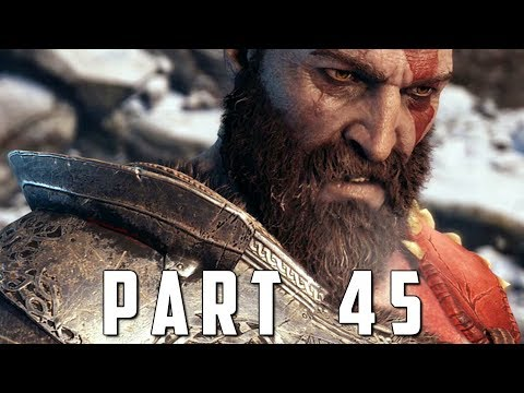 GOD OF WAR Walkthrough Gameplay Part 45 - PATH TO JOTUNHEIM (God of War 4)