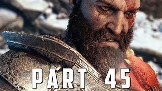 GOD OF WAR Walkthrough Gameplay Part 45 - PATH TO JOTUNHEIM (God of War 4)