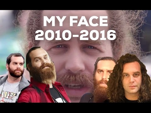 MY FACES FROM 2010-2016
