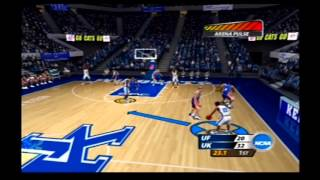 NCAA March Madness 2005 Rivalry Game Florida vs Kentucky Retro Gameplay