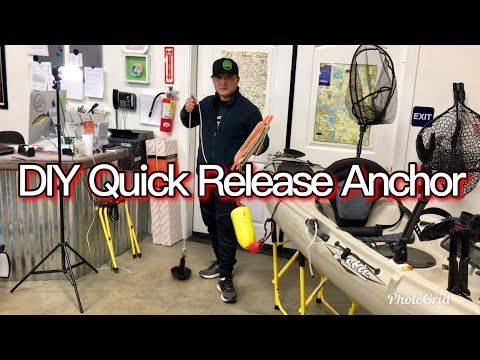Rigging Tips: Kayak Quick Release Anchor System