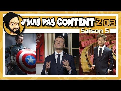 J'SUIS PAS CONTENT ! #203 : Bonne année 2019 avec Macron !