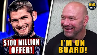 Khabib OFFERED $100million to face Floyd Mayweather, Dana White on his meeting with Khabib, Chandler