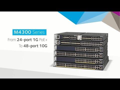 .購買M4300 10G全網管系列 ,限期限量搭贈 XS505M交換器