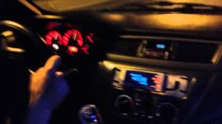 evo 8 2 2 cosworth kelford cams 288 stock evo 9 turbo 1 2 boost 4 people in the car