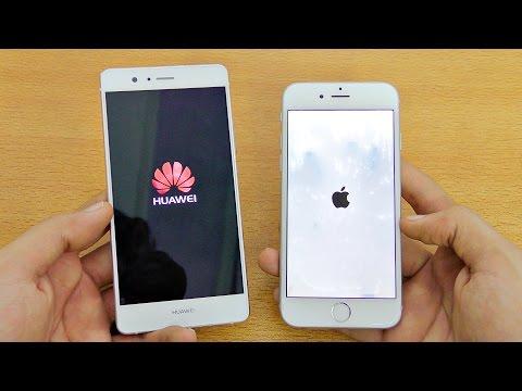Huawei P9 Lite vs iPhone 6