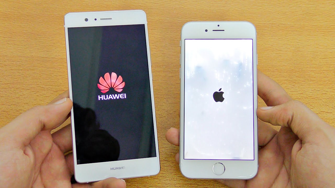 huawei p9 vs iphone 6 plus